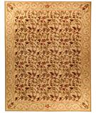 RugStudio presents Due Process Aubusson Durham Honey Flat-Woven Area Rug